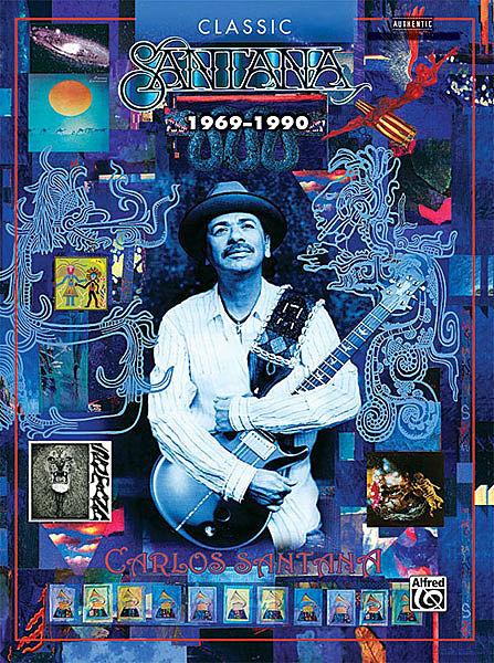 Carlos Santana  Dance of the Rainbow Serpent Vol 2 Soul Authentic Guitar TAB