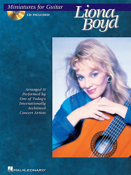 LIONA BOYD, MINIATURES FOR GUITAR  BOOK CD giochi proibiti