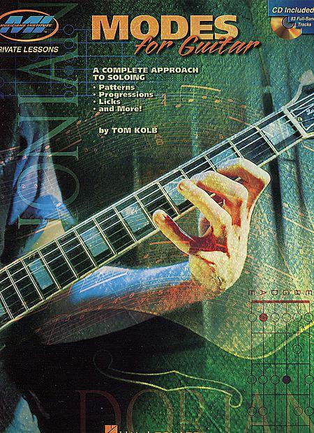 MODES FOR GUITAR MUSICIANS INSTITUTE Tom Kolb CD TABLATURE Dorico Frigio Misolidio Eolio Locrio