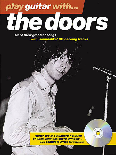 DOORS PLAY GUITAR WITH LIBRO CD TABLATURE Robby Krieger Jim Morrison ...