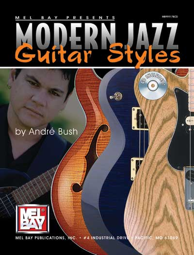 Modern Book Cover Guitar : Modern jazz guitar styles andré bush cd tablature soloing