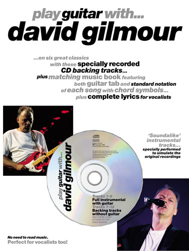 PINK FLOYD, GILMOUR DAVID PLAY GUITAR WITH... CD TABLATURE Learning ...