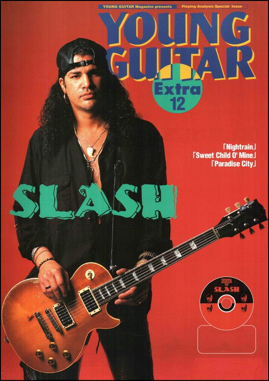 Slash Guitarist Young