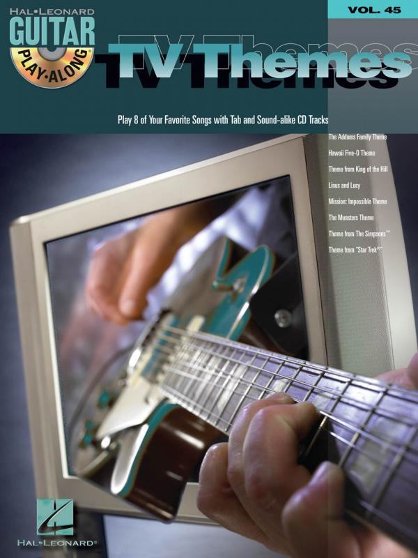 TV THEMES Guitar Play-Along 45 LIBRO BASI CD TABLATURE OMER SIMPSON ...