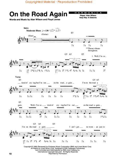 Harmonica u00bb Harmonica Tablature Blues - Music Sheets, Tablature, Chords and Lyrics