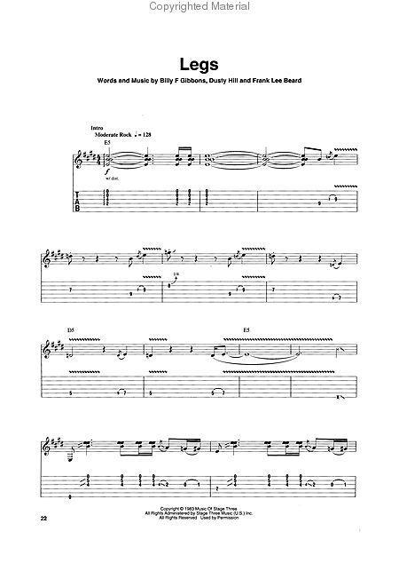 ZZ TOP Guitar Play-Along Volume 99 HAL LEONARD CD BASI TABLATURE LA GRANGE Gibbons-Hill : GROUPS ...