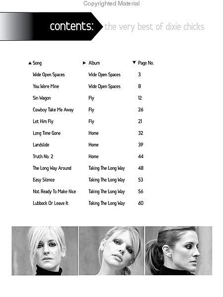 Landslide dixie chicks guitar chords