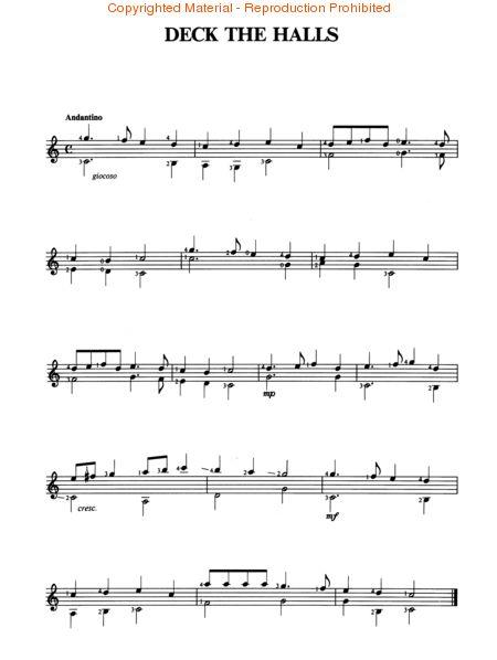 Oh Tannenbaum Gitarrennoten.A Guitar For Christmas Une Guitare Pour Noel Eine Gitarre Fur