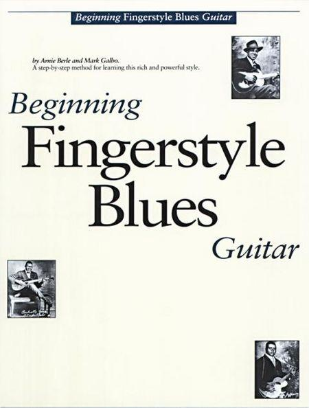 BEGINNING FINGERSTYLE BLUES GUITAR, Arnie Berle, Mark Galbo  CD