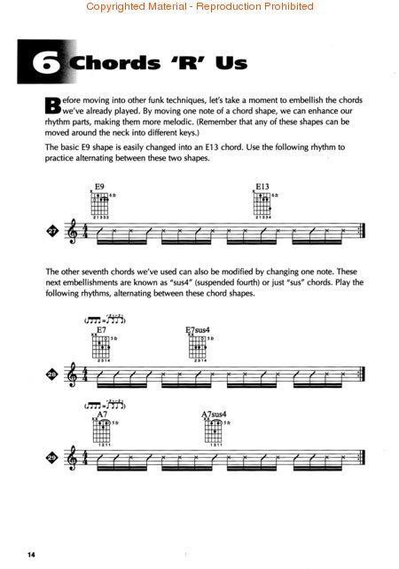FUNK GUITAR, The Essential Guide, Ross Bolton Musicians Institute CD ...