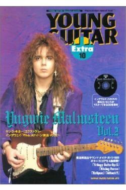 MALMSTEEN YNGWIE YOUNG GUITAR EXTRA 2 CD TABLATURE LIBRO ...