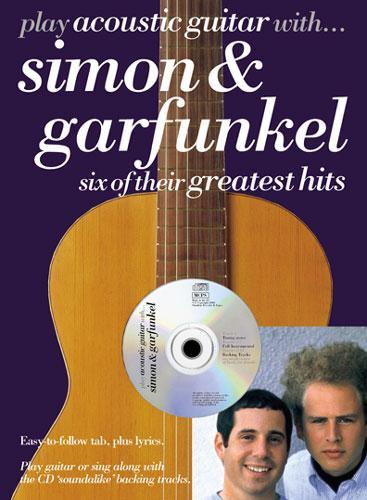 SIMON & GARFUNKEL PLAY ACOUSTIC GUITAR WITH    CD TABLATURE